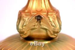 ANTIQUE LARGE ROYAL WORCESTER HARRY MARTIN PAINTED ROSES VASE 1813 Circa 1910