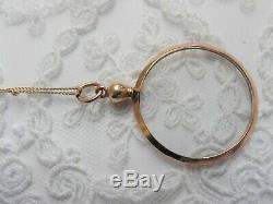 Antique Edwardian 9ct Rose Gold Picture Locket 1911