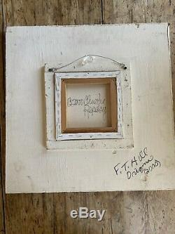 Antique French frame With oil on canvas Print Christie Repasy 2000 Signed