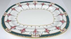 Antique MINTON Hand Painted PERSIAN ROSE Large Platter Dish England