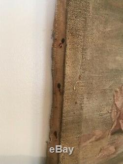 Antique Rose Oil Painting Pale pink and yellow! Beautiful