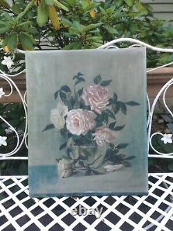Antique Roses Painting oil on canvas