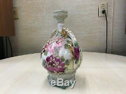 Antique Royal Moriye Nippon Hand Painted Roses Moriage Excellent Quality